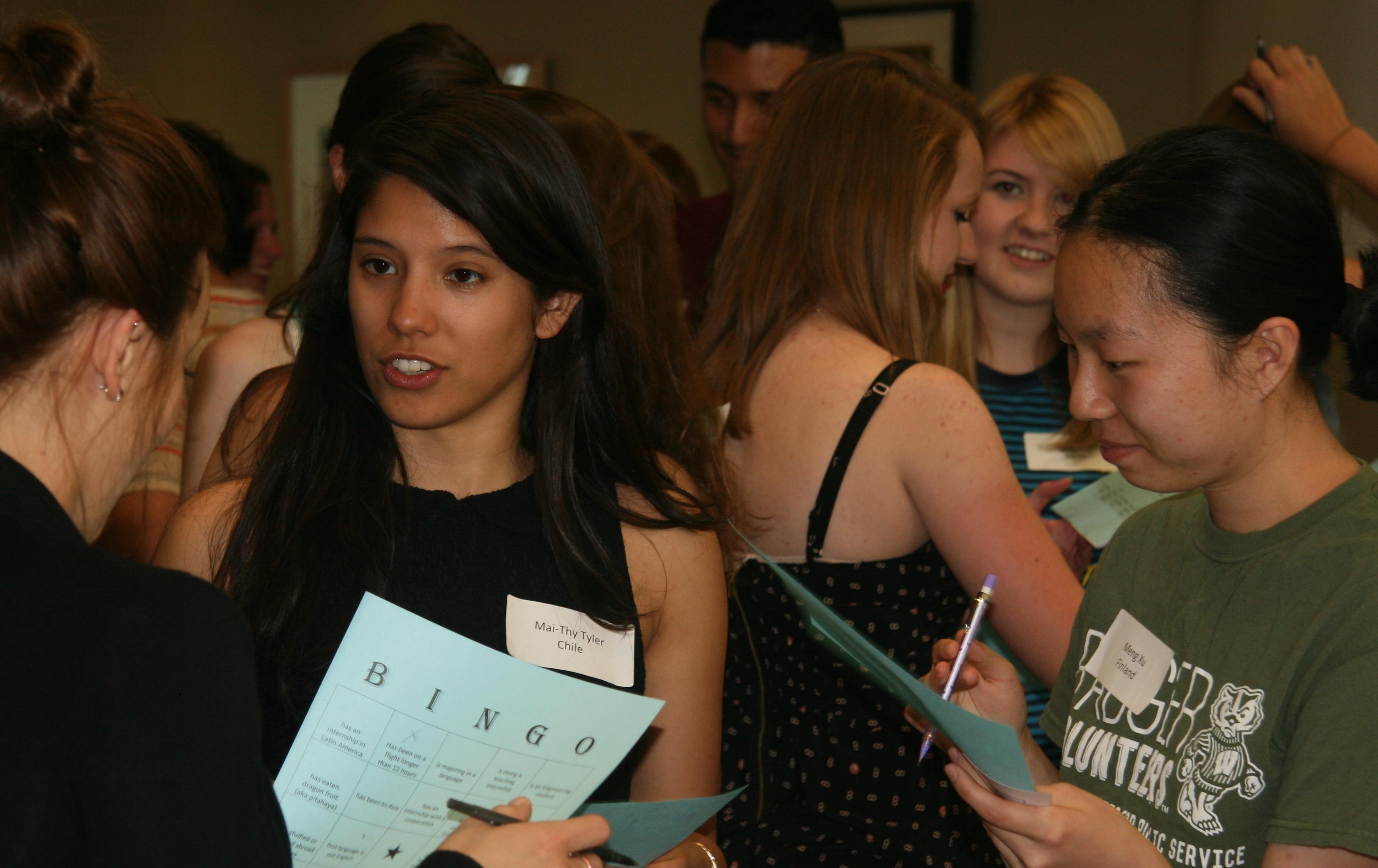 Students at IIP Pre-Departure Orientation